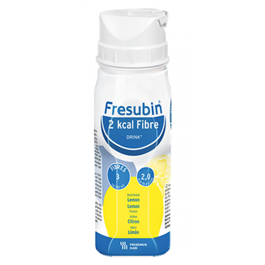 Fresubin 2 KCAL Fibre Drink Lemon 6x4x200ml