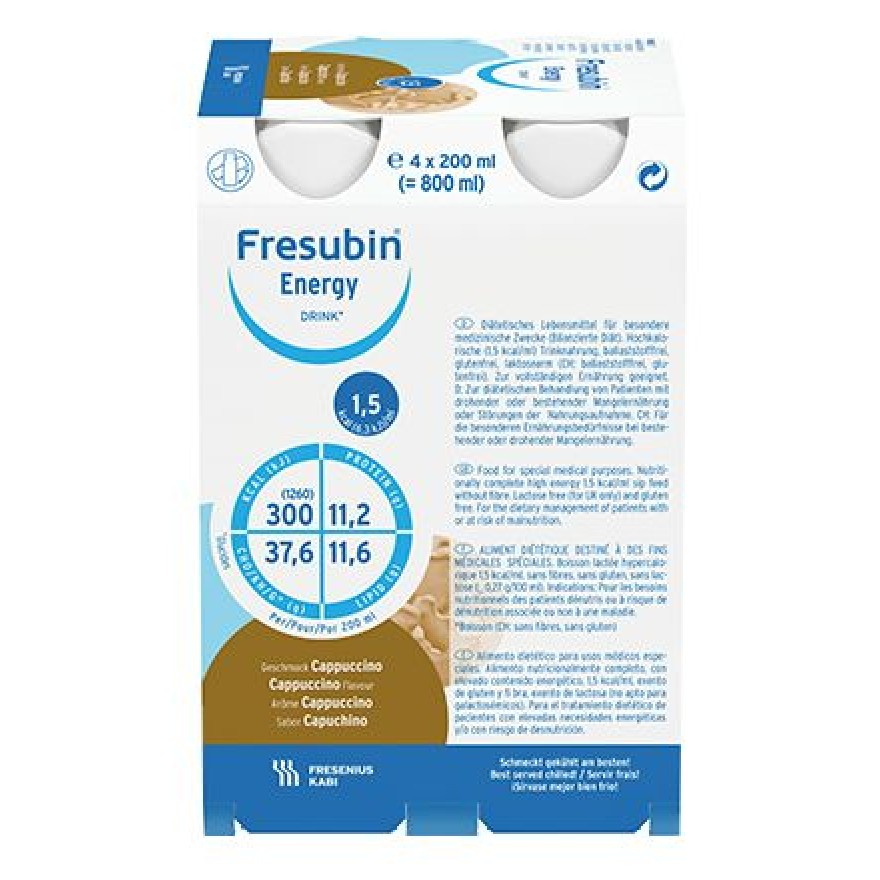 Fresubin ENERGY Drink Cappuccino 4x200ml