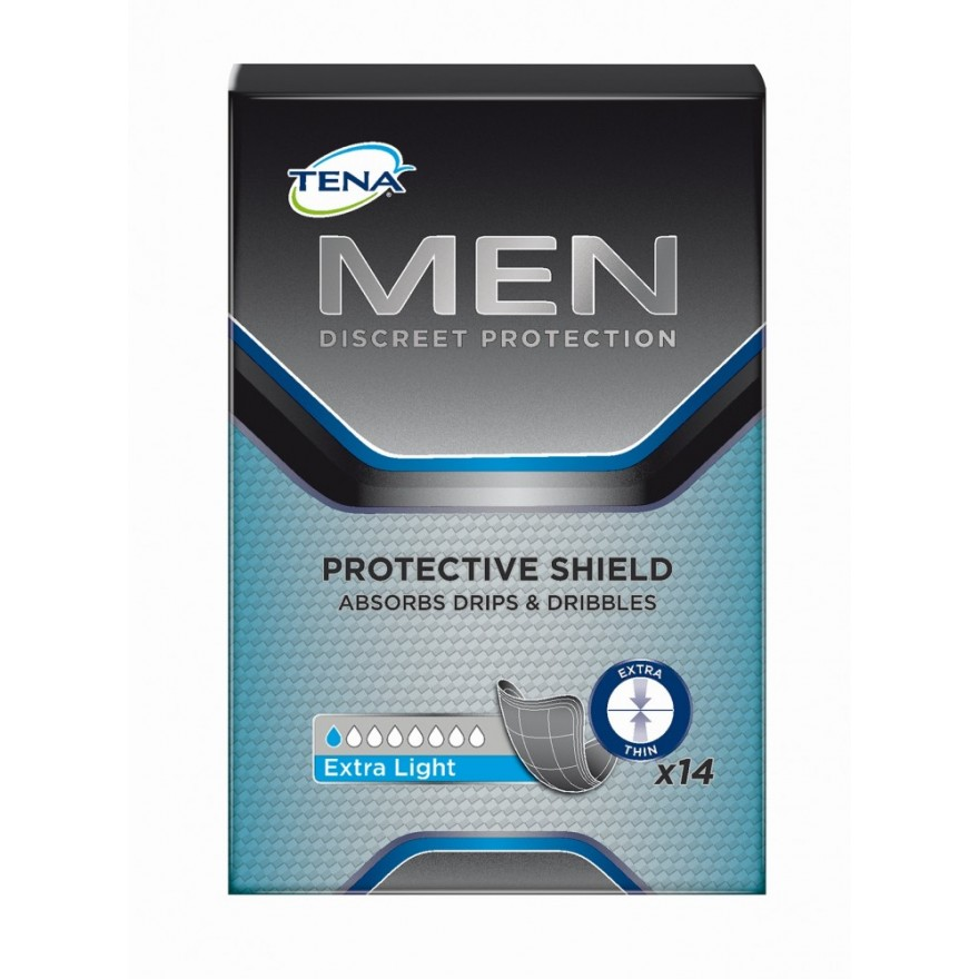 TENA MEN extra light Einlagen 8x14 ST