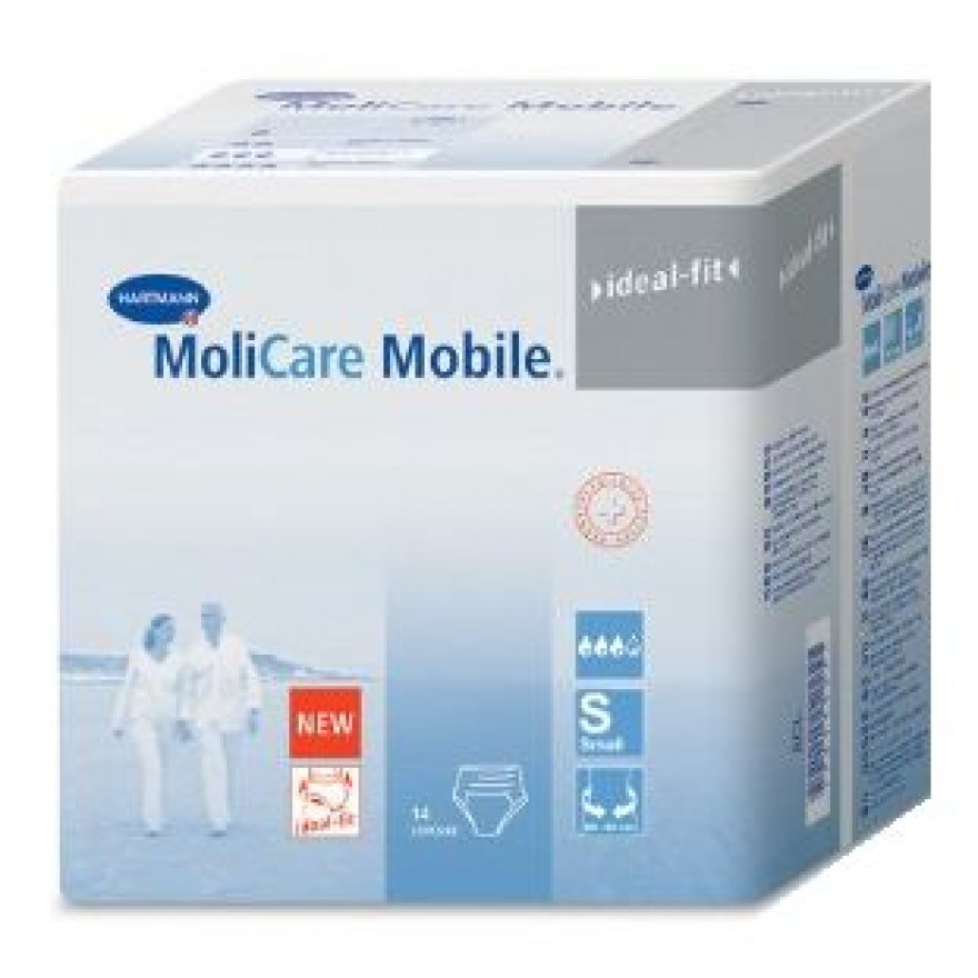 MOLICARE Mobile Inkontinenz Slip Gr.1 small 14 ST 915831