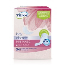 TENA LADY Discreet Einlagen mini magic 6x34 ST