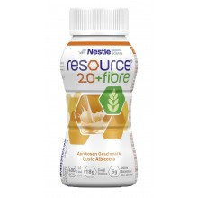 RESOURCE 2.0+fibre Aprikose 6x4x200ml - Sonderangebot