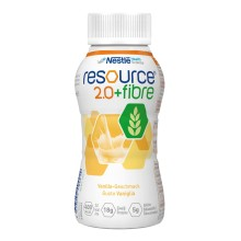 RESOURCE 2.0+fibre Vanille 4x200ml Sonderangebot