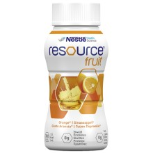 RESOURCE Fruit Orange 4x200ml Sonderangebot