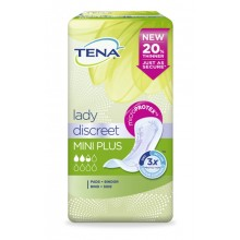 TENA LADY Discreet Einlagen mini plus 6x20 ST