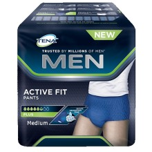 TENA MEN Active Fit Pants Plus Medium 12 ST