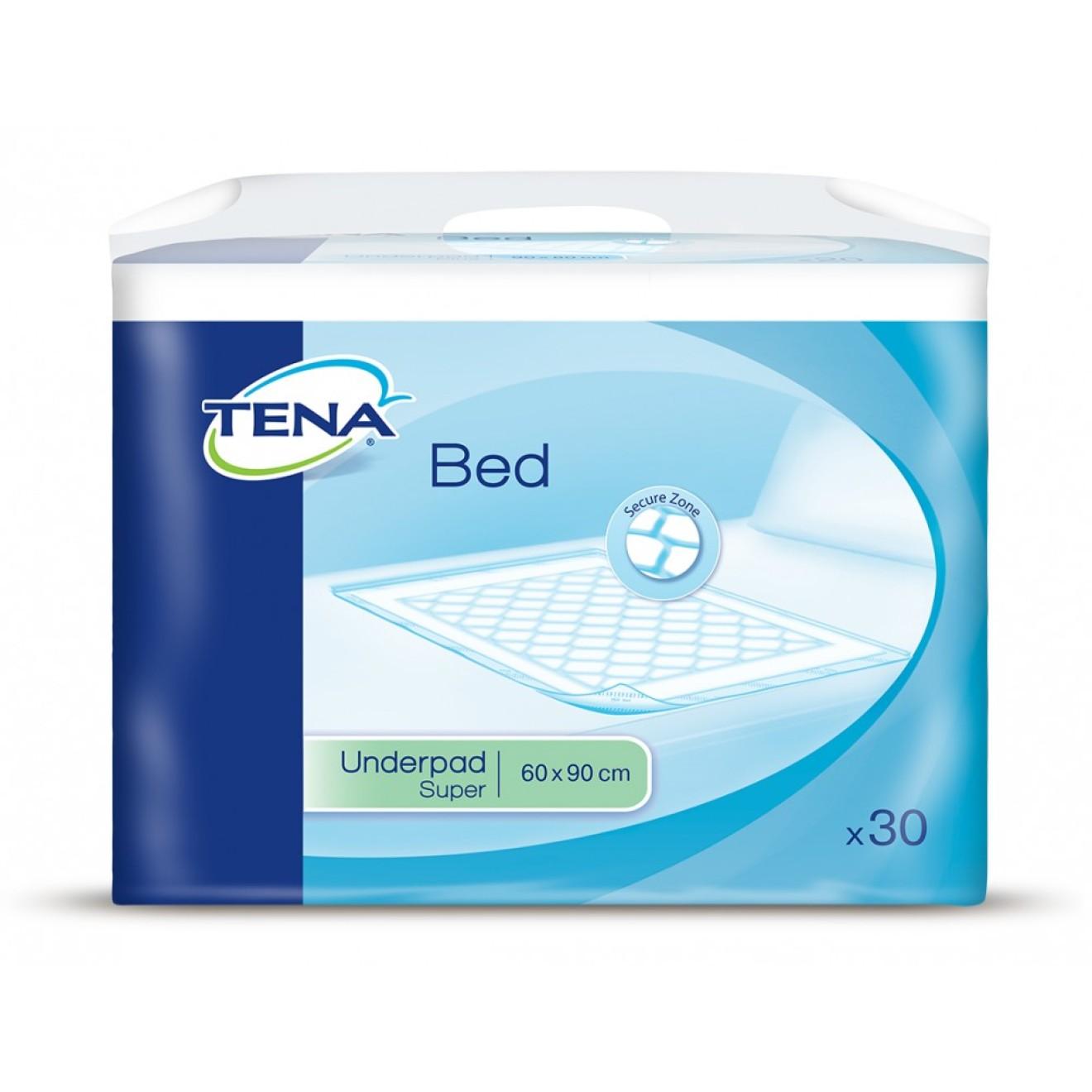 TENA Bed SUPER Secure Zone 60x90cm 30 ST