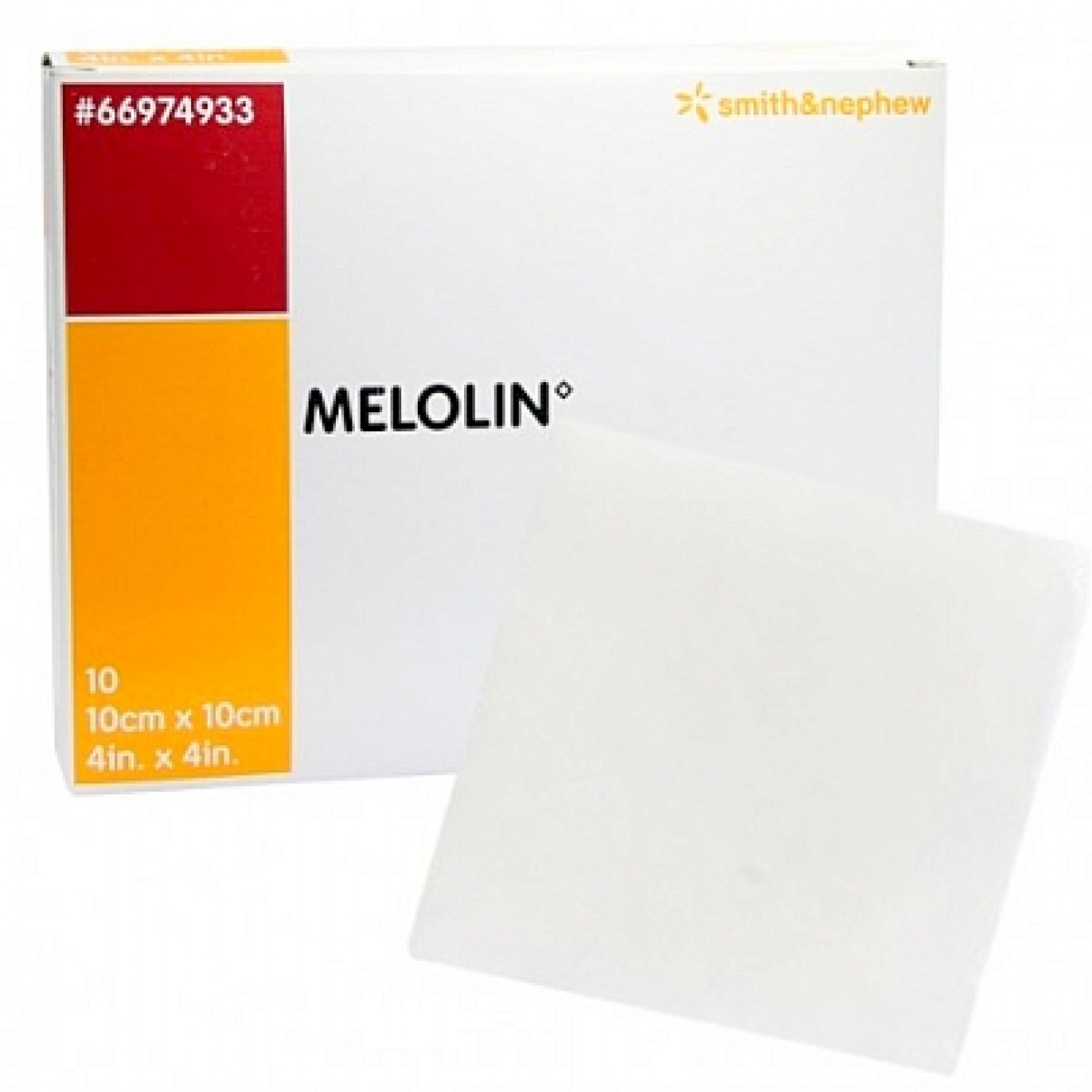 Smith Nephew GmbH MELOLIN 10x10 cm Wundauflagen steril 10 ST 03170748