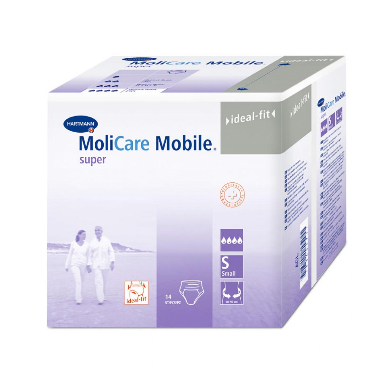 MOLICARE Mobile Super Inkontinenz Slip Gr.1 small 14 ST  915871