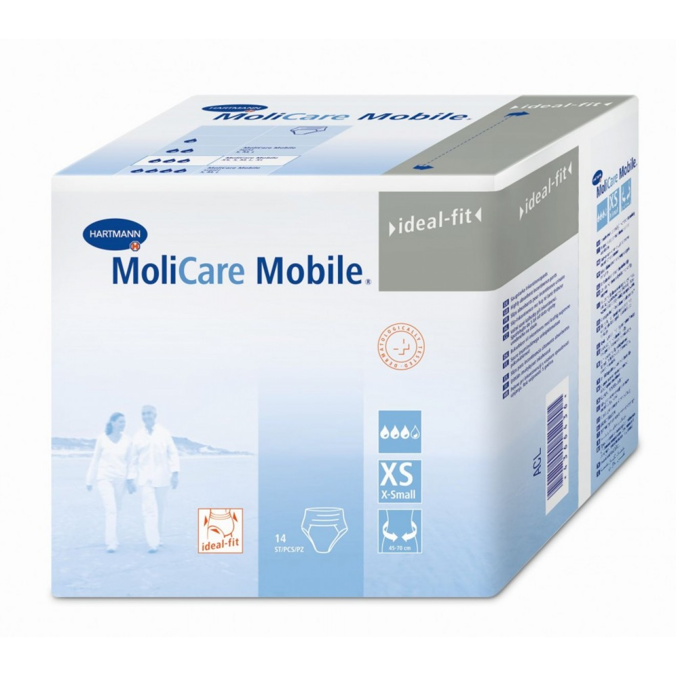 MOLICARE Mobile Inkontinenz Slip extra small XS 14 ST  915840