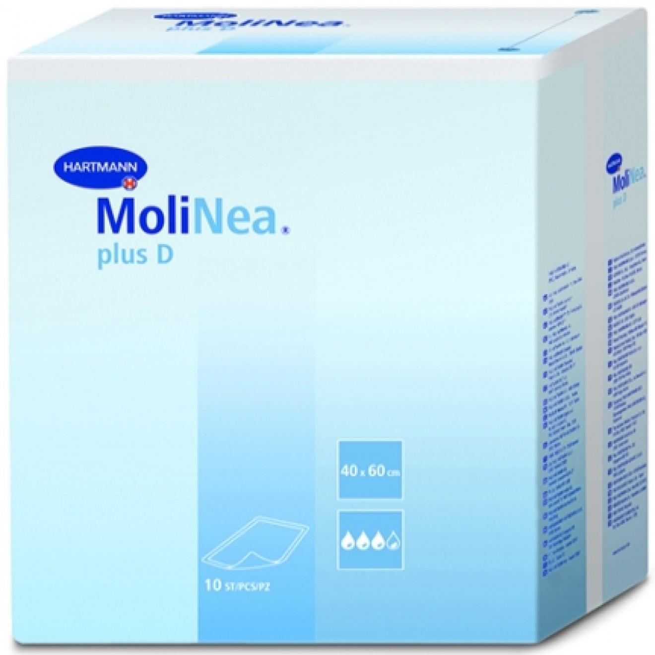 Molinea Plus D Kranken Unterlagen 60x90cm 50 St